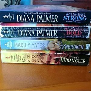 4 western novels